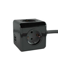 Prises Cube 3 positions Power Cube 3x USB prise de courant CUBE RALLONGE