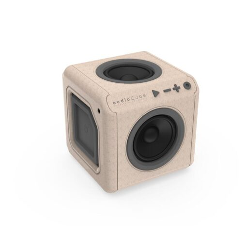 AudioCube Portable WOOD