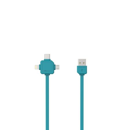 Power USB Kabel Blauw