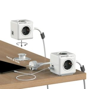 PowerCube Extended Duo USB 3m kabel