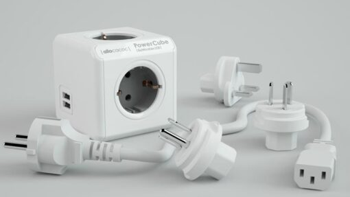 PowerCube Rewirable DUO-USB