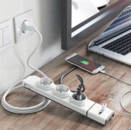 Module 2x USB powerstrip
