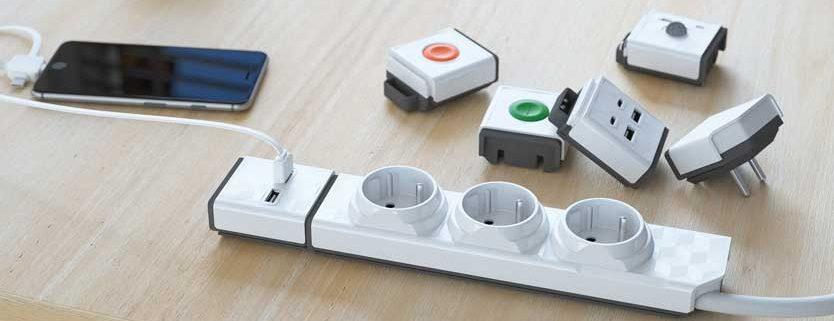 Powerstrip Modular USB
