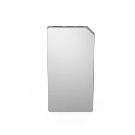 powerbank slim silver