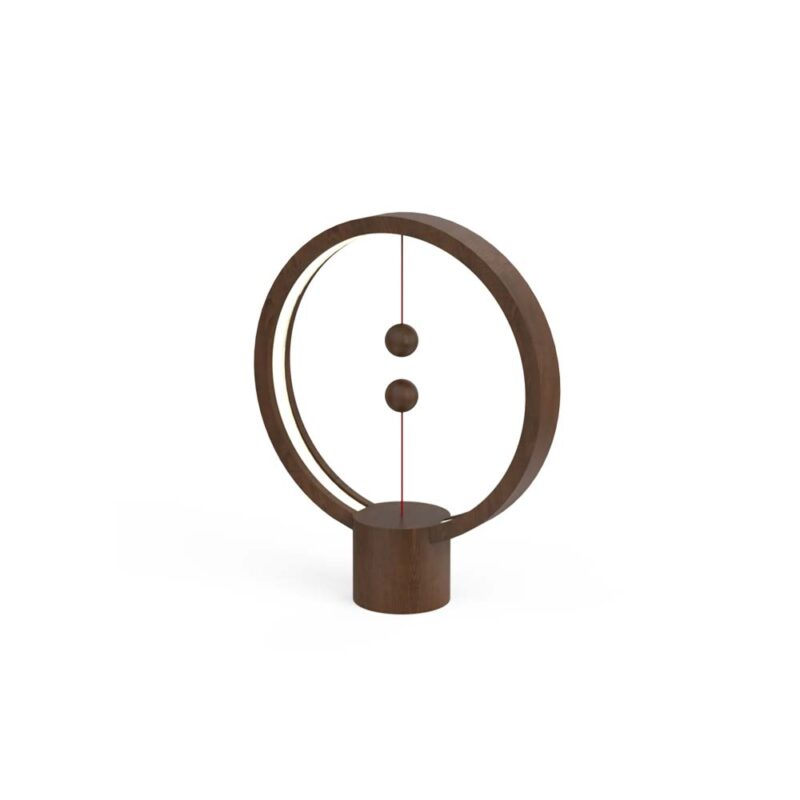 Henglamp Blance Lamp Round Dark Wood