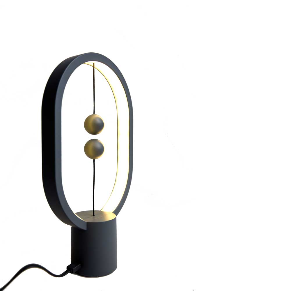 HENG Balance Lamp Ellipse Mini Donker Grijs