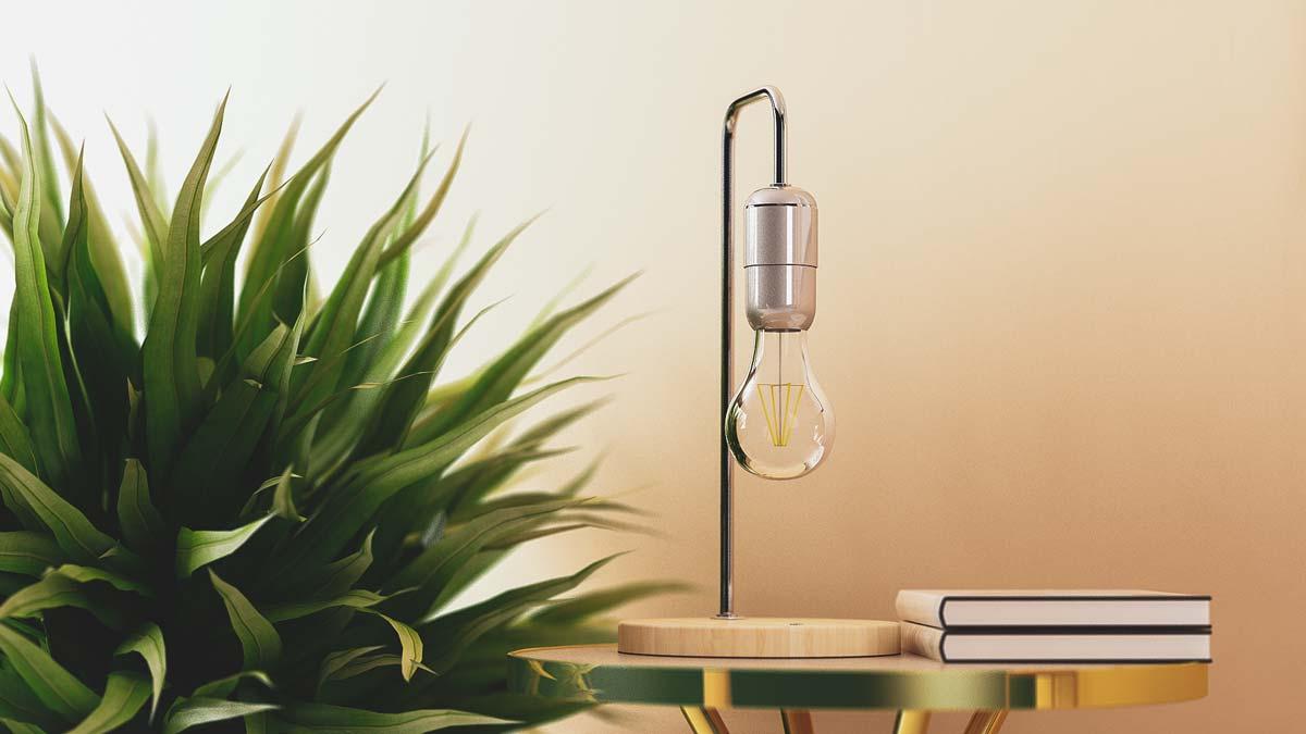 Levitating Lamp 15